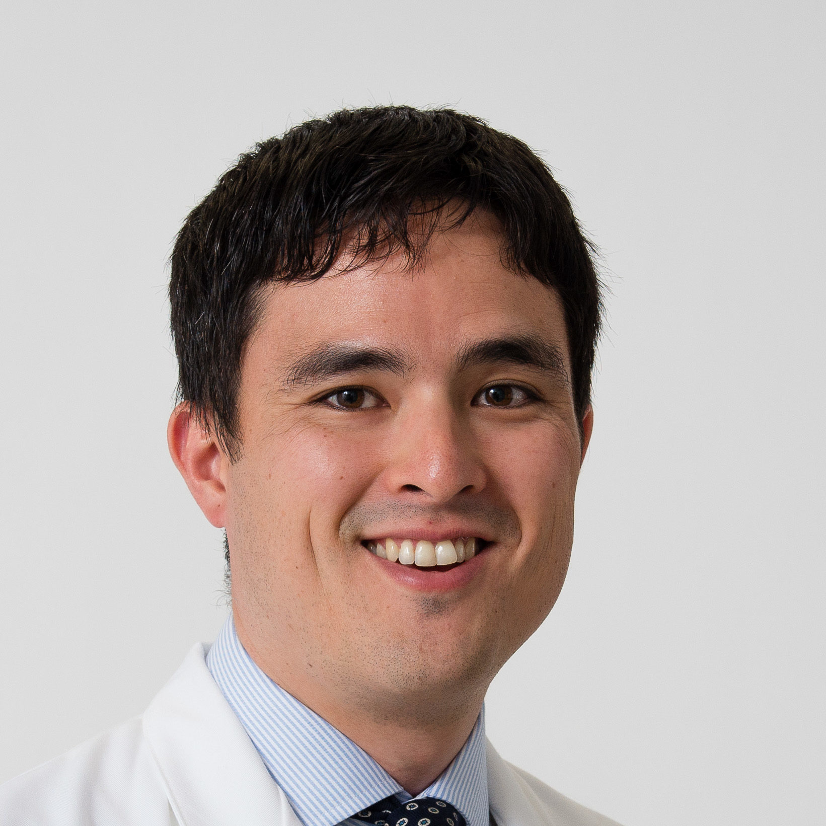 Brandon Oto PA-c is a physician assistant at UConn Health. August 13, 2019 (Tina Encarnacion/UConn Health photo)